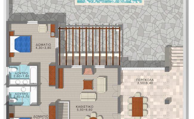 Throubi ground floor layout