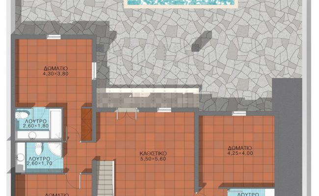 Throubi lower floor layout
